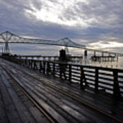 Astoria-megler Bridge 4 Art Print