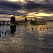 Astoria-megler Bridge 5 Art Print