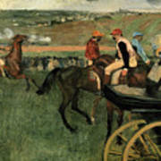 At The Races Art Print