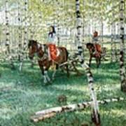 At Work Nikolai Petrovich Bogdanov-belsky Art Print