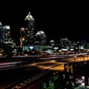 Atlanta Expressway Art Print