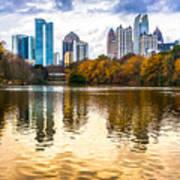Atlanta - Usa Art Print