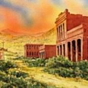 Aurora Ghost Town Nevada Art Print