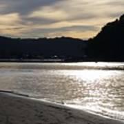 Australia - Sun Glistens On Umina Beach Art Print