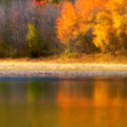 Autumn At Sawmill Lake Art Print