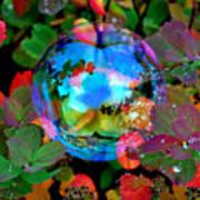 Autumn Bubble Art Print