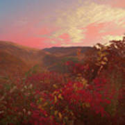 Autumn In The Rolling Hills Art Print
