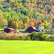 Autumn On The Farm Art Print