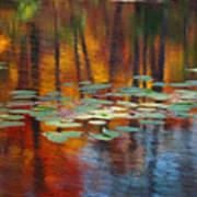Autumn Reflections I Art Print