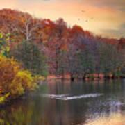 Autumn's Allure Art Print