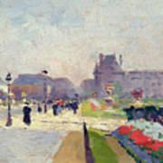 Avenue Paul Deroulede Art Print