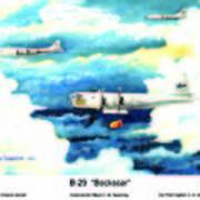 B-29 Bockscar Art Print