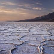 Badwater Salt Flats 1 Art Print