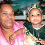 Bahama Mama In Atlantis Art Print
