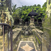 Bali Temple Art Print