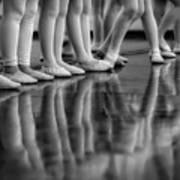 Ballet Class Art Print