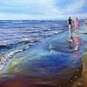 Baltic beach  Art Print