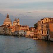 Basilica Di Santa Maria Della Salute, Venice, Italy Art Print