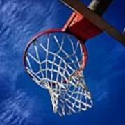 Basketball Hoop #juansilvaphotos Art Print