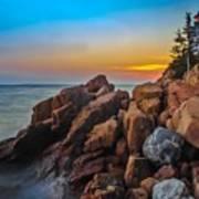 Bass Harbor Lighthouse Maine Art Print