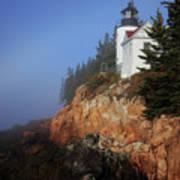 Bass Harbor Lighthouse, Acadia National Park Art Print