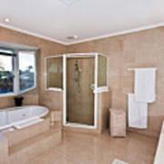 Bathroom And Spa Bath Art Print