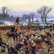 Battle Of Fredericksburg - To License For Professional Use Visit Granger.com Art Print
