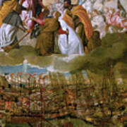 Battle Of Lepanto Art Print
