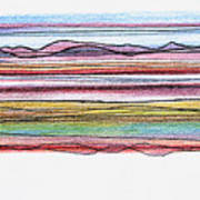 Bay Lines Art Print