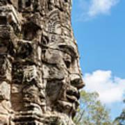 Bayon Temple, Anghor Art Print