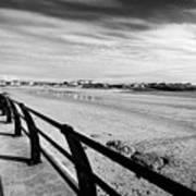 Beach At Trearddur Bay Anglesey North Wales Uk Art Print