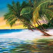 Beach Waves Art Print