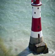 Beachy Head Lighthouse. Art Print