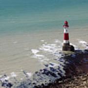 Beachy Head Lighthouse Art Print