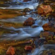 Bear Creek Waterfalls Art Print