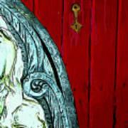 Behind Closed Doors Art Print