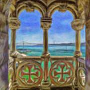 Belem Arches  Art Print