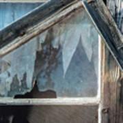 Belmont Window And Screen 1627 Art Print