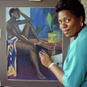 Bermuda Artist Art Print