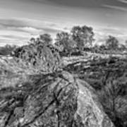 Beyond The Rocks Art Print