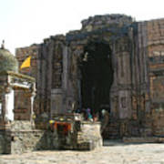 Bhojpur Temple Art Print