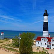 Big Sable Point Lighthouse Art Print