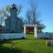 Big Sodus Lighthouse Art Print