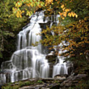 Bijoux Falls In Beautiful British Columbia Art Print