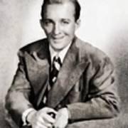 Bing Crosby, Hollywood Legend By John Springfield Art Print