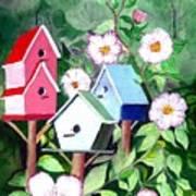 Birdhouse Art Print