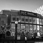 Birmingham Rep Repertory Theatre Uk Art Print