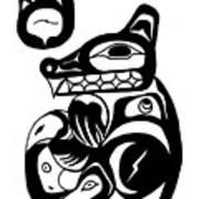 Bloodwolf Art Print