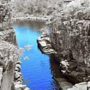 Blue River Art Print