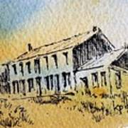 Boardinghouse Cable Ghost Town Montana Art Print